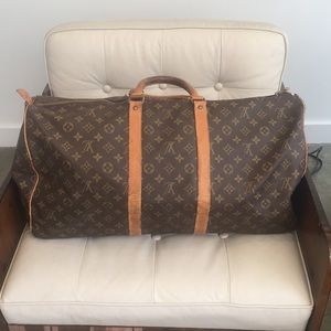 Louis Vuitton vintage 1979 original duffel bag.